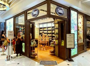Sabon store at Ngee Ann City in Singapore.