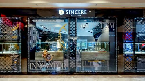 Sincere Fine Watches store in Singapore.