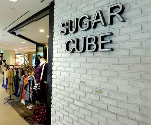 Sugar Cube clothing boutique at Junction 8 shopping centre in Singapore.