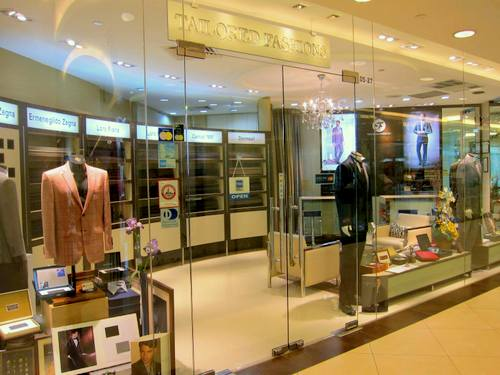Tailored Fashions shop at Ngee Ann City in Singapore.