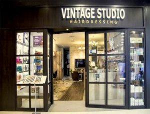 Vintage Studio hairdressing salon at Bedok Mall in Singapore.