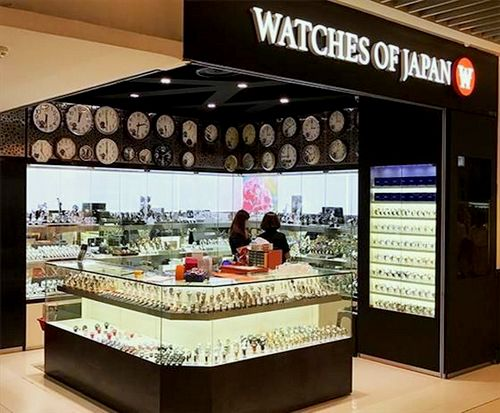 Watches of Japan store at Bedok Mall in Singapore.