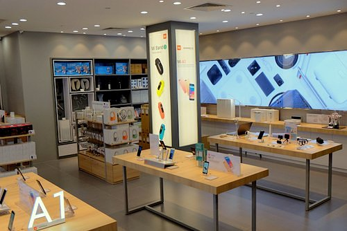 Xiaomi store at Bedok Mall in Singapore.