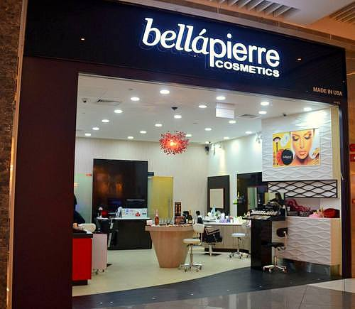 Bellapierre Cosmetics store at Suntec City in Singapore.