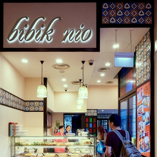 Bibik Nio restaurant at Jurong Point shopping centre in Singapore.