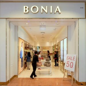 Bonia shop at Jurong Point mall in Singapore.