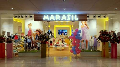 Marasil children's clothing store at Marina Square shopping mall in Singapore.