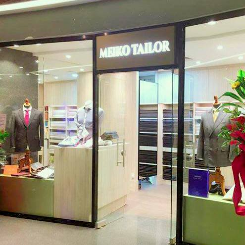 Meiko Tailor shop at Asia Square mall in Singapore.