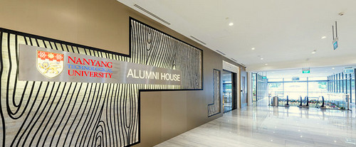 NTU Alumni House at Marina Square shopping centre in Singapore.
