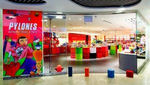 Pylones design & gift shop at Wheelock Place mall in Singapore.