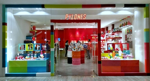 Pylones store at Marina Square mall in Singapore.