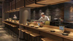 SENMI SUSHI sushi bar at Marina Square mall in Singapore.