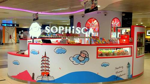 Sophisca candy shop in Singapore.