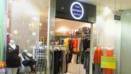 The Maternity House store at Marina Square shopping centre in Singapore.