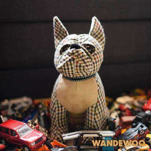 Wandewoo French Bulldog door stopper, available in Singapore.
