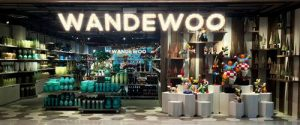 Wandewoo home and lifestyle accessories shop at Marina Square mall in Singapore.