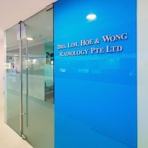Drs Lim, Hoe & Wong Radiology clinic at Jurong Point shopping mall in Singapore.