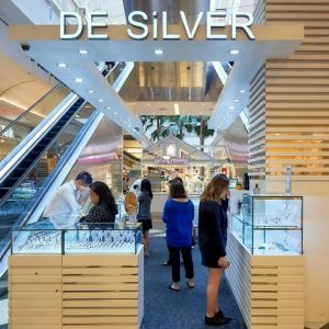 De Silver jewellery store at Jurong Point mall in Singapore.