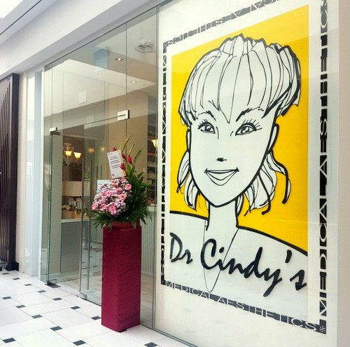 Dr Cindy's Medical Aesthetics clinic at Jurong Point mall in Singapore.