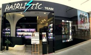 Hairlistic Team hair salon at Jurong Point shopping centre in Singapore.