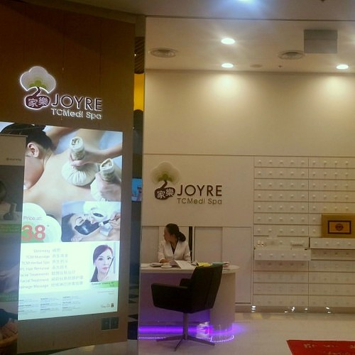 Joyre TCMedi Spa at Jurong Point mall in Singapore.
