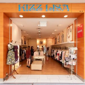 Kizz Lisa clothing store at Jurong Point mall in Singapore.
