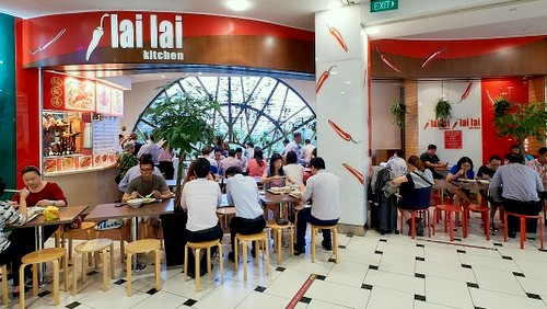 Lai Lai Kitchen restaurant at Jurong Point mall in Singapore.