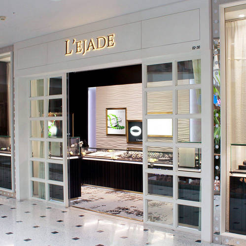L'ejade jewellery store at Jurong Point shopping centre in Singapore.
