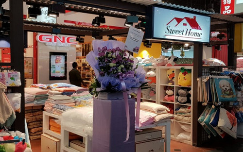 Home Sweet store at Jurong Point mall in Singapore.