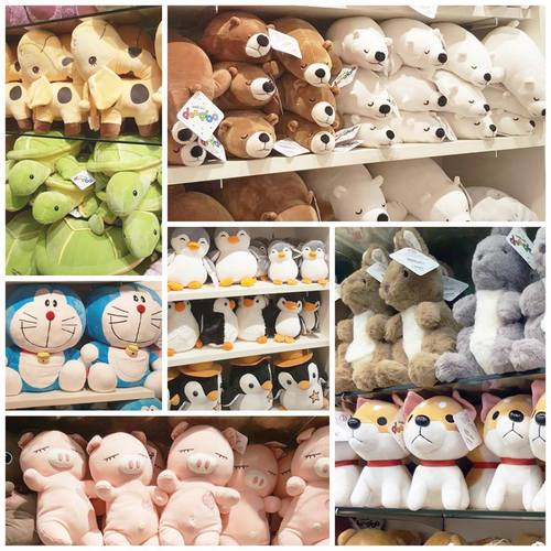 Mini Toons plush toys, available in Singapore.
