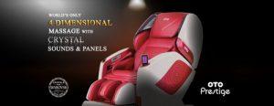 OTO Prestige massage chair, available in Singapore.