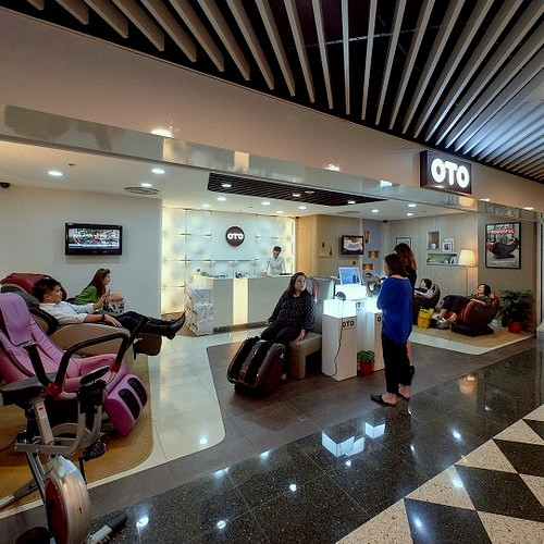 OTO Shop at Jurong Point mall in Singapore.