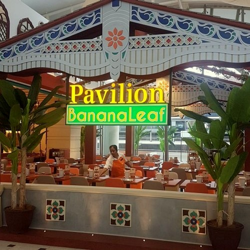 Pavilion Banana Leaf Indian restaurant at Jurong Point shopping centre in Singapore.