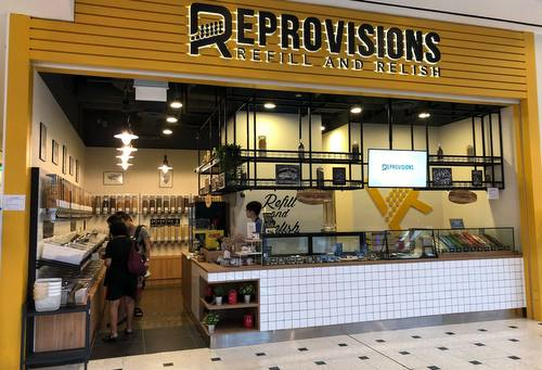 Reprovisions food store at Jurong Point mall in Singapore.