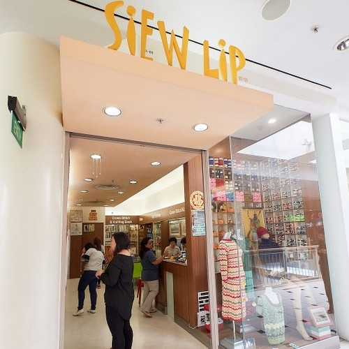 Siew Lip handicraft store at Jurong Point mall in Singapore.