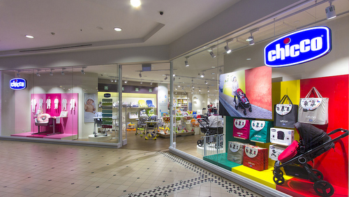 Chicco baby & maternity shop at Tanglin Mall in Singapore.