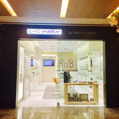 Eye Couture by Philip D Izaac optical store at Paragon mall in Singapore.