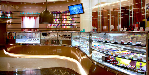 Janice Wong confectionery shop at Paragon mall in Singapore.