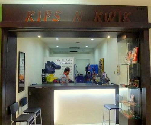 Kips N Kwik locksmith & key duplication service at Junction 8 mall in Singapore.
