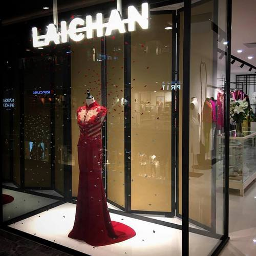 Lai Chan clothing store at Paragon mall in Singapore.