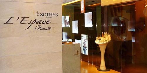 L'Espace Beauté beauty salon at Paragon mall in Singapore.