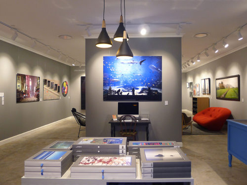 LUMAS Photo Art Gallery at Paragon shopping centre in Singapore.
