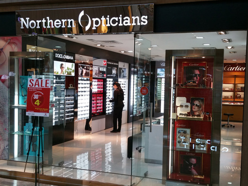 Northern Opticians store at Paragon mall in Singapore.