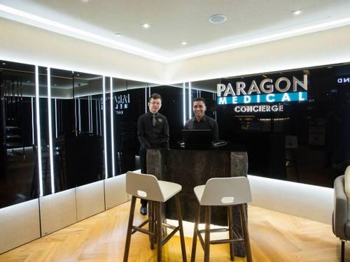 Paragon Medical Concierge service at Paragon shopping centre in Singapore.