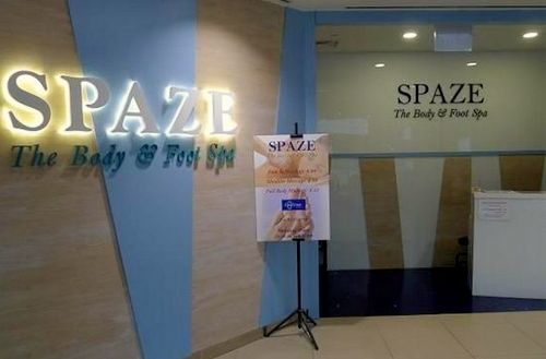 Spaze The Body & Foot Spa at Junction 8 mall in Singapore.