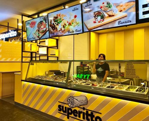 Superitto Mexican restaurant at Bukit Panjang Plaza in Singapore.