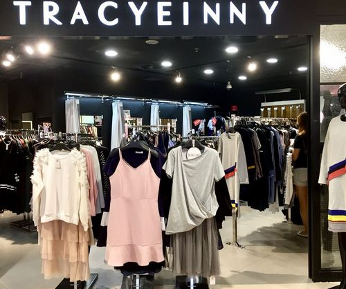 Tracyeinny clothing store at Junction 8 mall in Singapore.