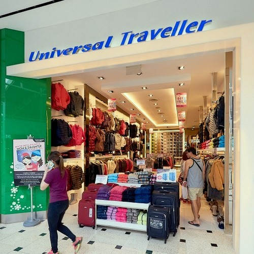 Universal Traveller store at Jurong Point mall in Singapore.