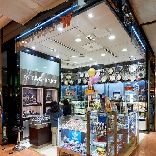 Vincent Watch store at Jurong Point mall in Singapore.