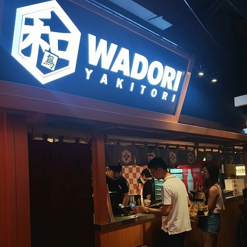 Wadori Yakitori Japanese restaurant at Jurong Point mall in Singapore.